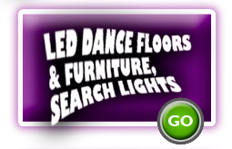Led Dance Floors and Furniture, Spot Lights